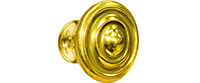 Knob 001 Antique Brass hardware option