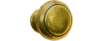 Knob 002 Antique Brass hardware option
