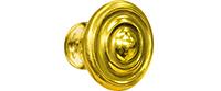 Kwalu Hardware - Knob 001 Antique Brass