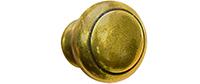Kwalu Hardware - Knob 002 Antique Brass