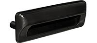 Kwalu Hardware - Recessed Pull Black