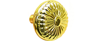 Kwalu Hardware - Knob Brass